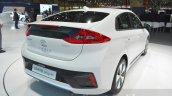 Hyundai Ioniq Plug-in rear at Geneva Motor Show 2016
