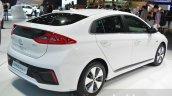 Hyundai Ioniq Plug-in rear three quarters at Geneva Motor Show 2016