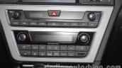 Hyundai Sonata PHEV auto AC at Auto Expo 2016