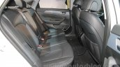 Hyundai Sonata PHEV rear seat at Auto Expo 2016
