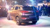 Hyundai Tucson rear three quarter at the Auto Expo 2016