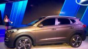 Hyundai Tucson side at the Auto Expo 2016