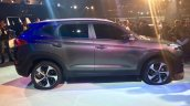 Hyundai Tucson side view at the Auto Expo 2016