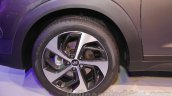 Hyundai Tucson wheel at Auto Expo 2016