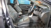 Hyundai i30 front seats at 2016 Auto Expo