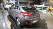 Hyundai i30 rear three quarters at 2016 Auto Expo