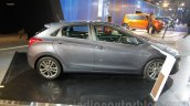 Hyundai i30 side view at 2016 Auto Expo