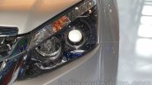 Isuzu D-Max V-Cross headlamp detail at Auto Expo 2016