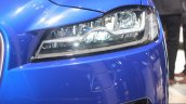 Jaguar F-Pace headlamp at the Auto Expo 2016