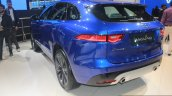 Jaguar F-Pace rear quarter at the Auto Expo 2016