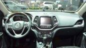 Jeep Cherokee Overland dashboard at the 2016 Geneva Motor Show