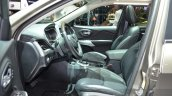 Jeep Cherokee Overland front seat at the 2016 Geneva Motor Show
