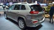 Jeep Cherokee Overland rear three quarter at the 2016 Geneva Motor Show