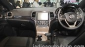 Jeep Grand Cherokee dashboard at Auto Expo 2016
