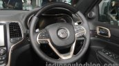 Jeep Grand Cherokee steering wheel at Auto Expo 2016