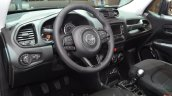 Jeep Renegade Dawn of Justice Special Edition interior at the Geneva Motor Show Live