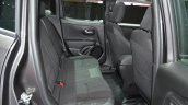 Jeep Renegade Dawn of Justice Special Edition rear seats at the Geneva Motor Show Live