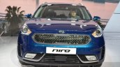 Kia Niro front at the 2016 Geneva Motor Show Live
