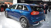Kia Niro rear three quarter at the 2016 Geneva Motor Show Live