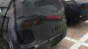Kia Niro rear three quarters spy shot