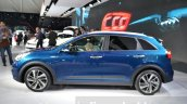 Kia Niro side at the 2016 Geneva Motor Show Live