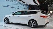 Kia Optima Sportswagon at the Geneva Motor Show Live