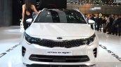Kia Optima Sportswagon front at the Geneva Motor Show Live