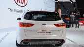 Kia Optima Sportswagon rear at the Geneva Motor Show Live