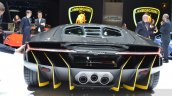 Lamborghini Centenario LP770-4 rear at the 2016 Geneva Motor Show Live