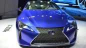 Lexus LC 500h front unveiled at the 2016 Geneva Motor Show Live