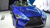 Lexus LC 500h headlamp, grille, bymper unveiled at the 2016 Geneva Motor Show Live