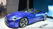 Lexus LC 500h unveiled at the 2016 Geneva Motor Show Live