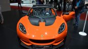 Lotus Elise Cup 250 front at the 2016 Geneva Motor Show Live