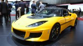 Lotus Evora Sport 410 front three quarter at the 2016 Geneva Motor Show Live
