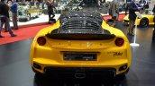 Lotus Evora Sport 410 rear at the 2016 Geneva Motor Show Live