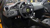 Lotus Evora Sport 410 steering wheel at the 2016 Geneva Motor Show Live