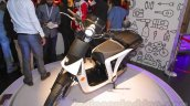 Mahindra GenZe front three quarters right at Auto Expo 2016