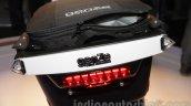 Mahindra GenZe storage box rear three quarters at Auto Expo 2016