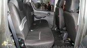 Mahindra Imperio Double Cabin Customised rear seats at Auto Expo 2016