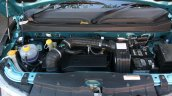 Mahindra KUV100 1.2 Diesel (D75) engine bay Full Drive Review