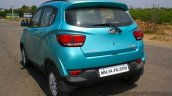 Mahindra KUV100 1.2 Diesel (D75) rear quarter Full Drive Review