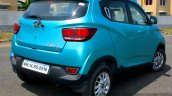 Mahindra KUV100 1.2 Diesel (D75) rear three quarter toe out Full Drive Review