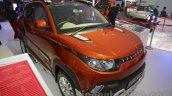 Mahindra KUV100 Xplorer edition front three quarters left at Auto Expo 2016