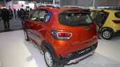 Mahindra KUV100 Xplorer edition rear three quarters at Auto Expo 2016