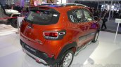 Mahindra KUV100 Xplorer edition rear three quarters left at Auto Expo 2016