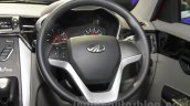 Mahindra KUV100 Xplorer edition steering wheel at Auto Expo 2016