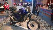 Mahindra Mojo Adventure Concept head lamp at Auto Expo 2016