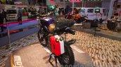 Mahindra Mojo Adventure Concept jerry cans at Auto Expo 2016