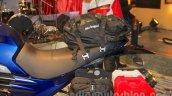 Mahindra Mojo Adventure Concept saddle bags at Auto Expo 2016