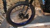 Mahindra Mojo Adventure Concept spoke wheel off-road tyre at Auto Expo 2016